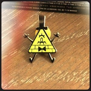 Gravity Galls Bill Cipher Enamel Pin
